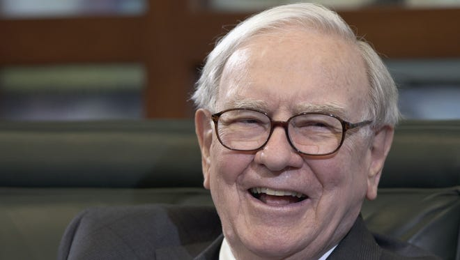 Warren Buffett, chairman and CEO of Berkshire Hathaway, during an interview in Omaha, Neb., in May 2012.