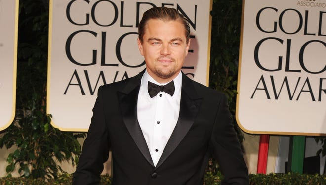 Leonardo DiCaprio, seen here at the Golden Globes in January, is single again.