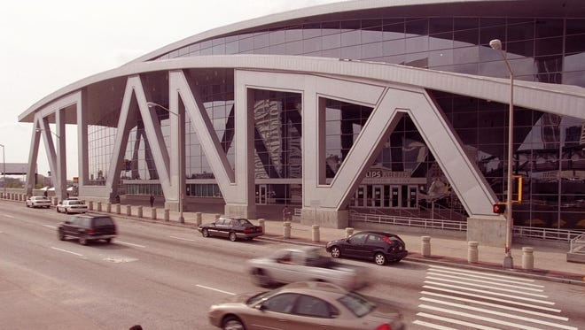 Philips Arena in Atlanta will be the site of the 2013 Division II and III title games.