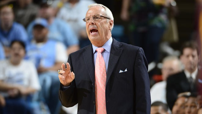 North Carolina Tar Heels head coach Roy Williams is expected to be on the sidelines for UNC's first game on Nov. 9. Williams had surgery in September to remove a tumor from his right kidney.