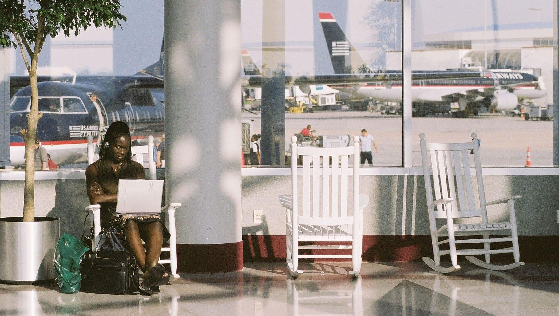 Remarkable Charlotte Douglas International Airport Evergreenethics Interior Chair Design Evergreenethicsorg