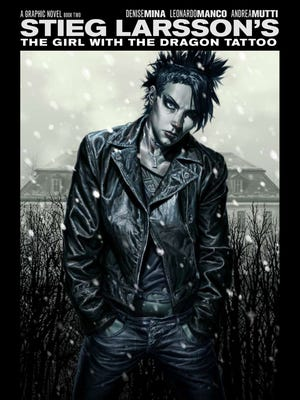 """Lee Bermejo illustrated the covers to Denise Mina's """"The Girl with the Dragon Tattoo"""" graphic novels, including this one for Book 2."""