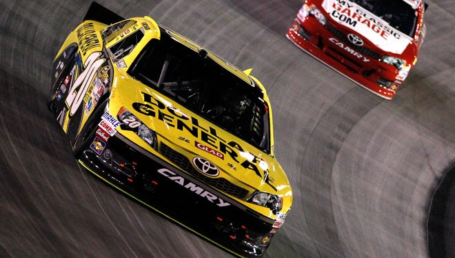 Dollar General expanded its Sprint Cup sponsorship deal with Joe Gibbs Racing for the No. 20 in 2013.