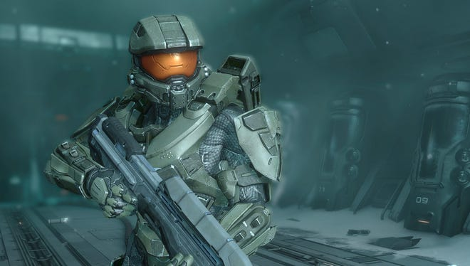 In the video game 'Halo 4,' main character the Master Chief awakes to face a new interstellar threat.