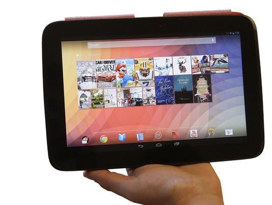Nexus 10 for Baig col