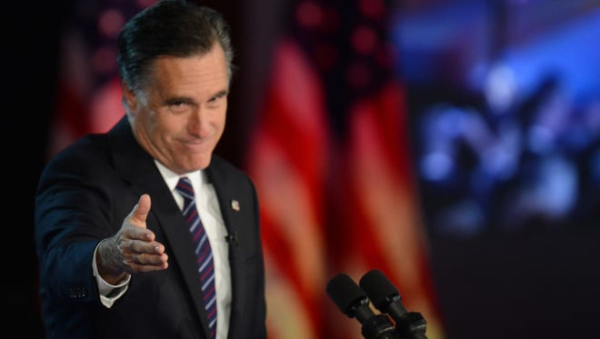 Republican presidential candidate Mitt Romney concedes defeat early Wednesday in Boston.