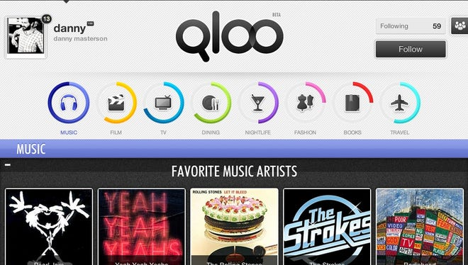 Qloo makes recommendations based on your afffinities.