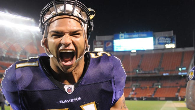 Ravens LB Brendon  Ayanbadejo was thrilled by the results from Election Day in Maryland.