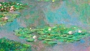 "The estate of Ethel Strong Allen bequeathed Claude Monet's painting ""Nympheas"" to the Hackley School in Tarrytown, N.Y."