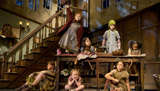 Annie and her orphan friends are once again charming the crowds on Broadway.