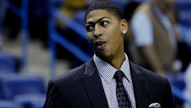 Hornets forward Anthony Davis suffered a concussion Nov. 2.