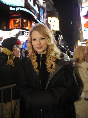 Taylor Swift will be leading the Times Square party this New Year's Eve.