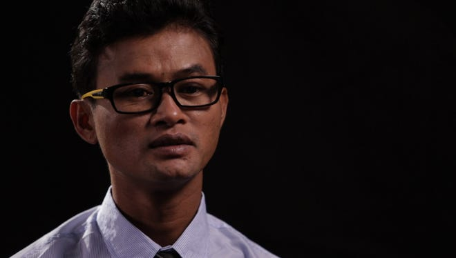 "Vannak Anan Prum, a Cambodian man held as a slave on a Thai fishing boat for four years, is one of 10 Trafficking in Persons Heroes recognized in 2012 by the U.S. Department of State. He is profiled in the film ""Journey to Freedom."""