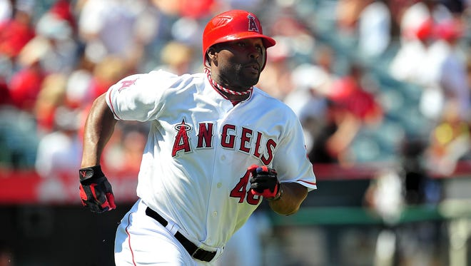 Torii Hunter spent the last five season in Los Angeles with the Angels.