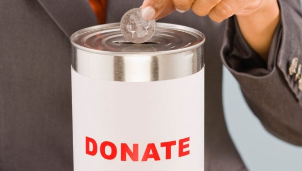 You  can download some apps that will let you give to charity without spending a dime.