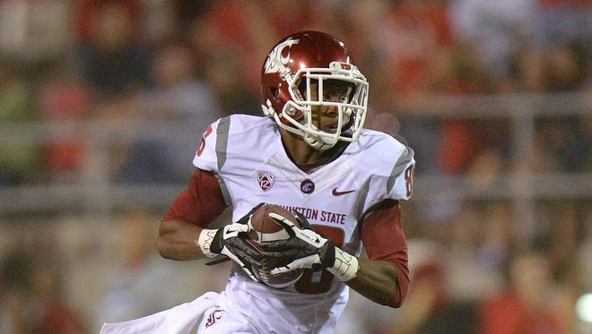 Washington State wide receiver Marquess Wilson set school single-season records last year with 82 receptions and 1,388 yards receiving.