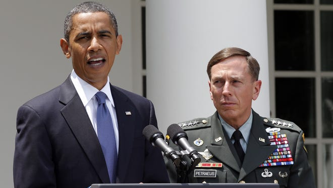 Gen. David Petraeus, one of the nation's most celebrated military generals, told the president he would resign after acknowledging an extramarital affair with his biographer, Paula Broadwell.