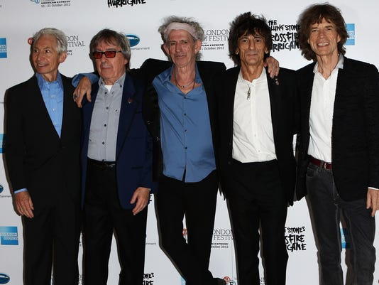 Rolling Stones look back and ahead on 50th anniversary