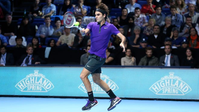 Roger Federer would like faster courts to encourage attacking styles.