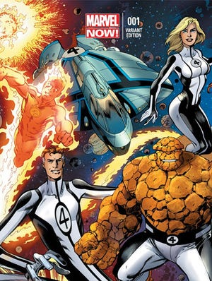 """Matt Fraction launches a new """"Fantastic Four"""" book as part of the """"Marvel NOW!"""" initiative."""
