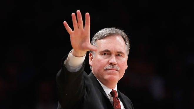Mike D'Antoni had some of the highest scoring teams in the NBA when he was coaching at Phoenix.