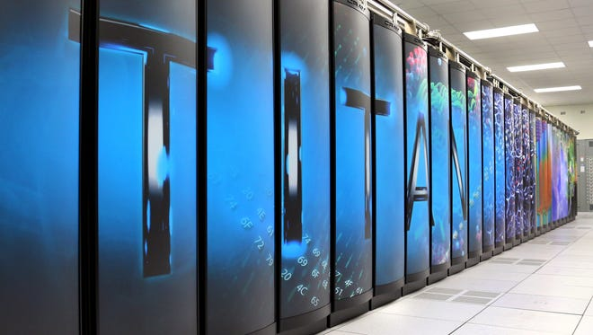 The Titan supercomputer at the I.S. Energy Department's Oak Ridge National Laboratory in Tennessee has been crowned the world's fastest -- 17.59 quadrillion calculations per second.