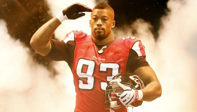 The Falcons said so long to Ray Edwards on Monday after 1.5 disappointing seasons.