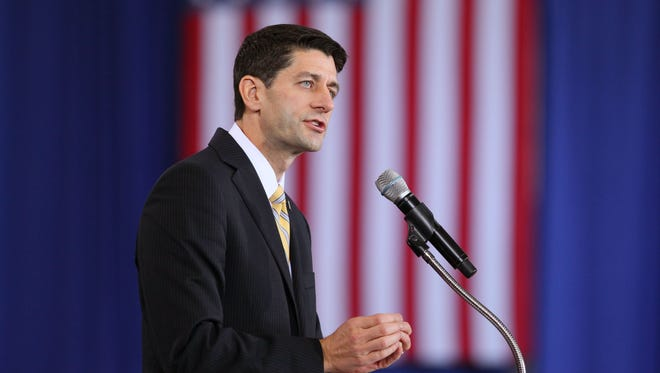 Rep. Paul Ryan, R-Wis., will return to Congress after an unsuccessful bid as the GOP vice presidential nominee.