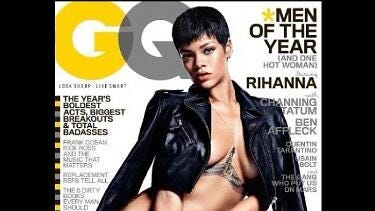 Rihanna covers 'GQ' magazine.