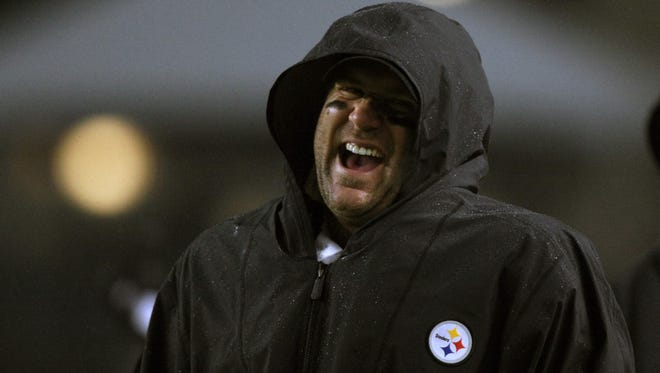 Steelers QB Ben Roethlisberger left Monday night's win against the Chiefs early in the second half.