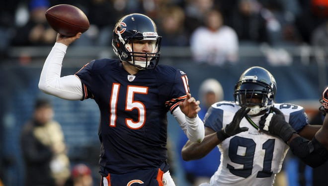 Josh McCown started two games for the Bears in 2011.