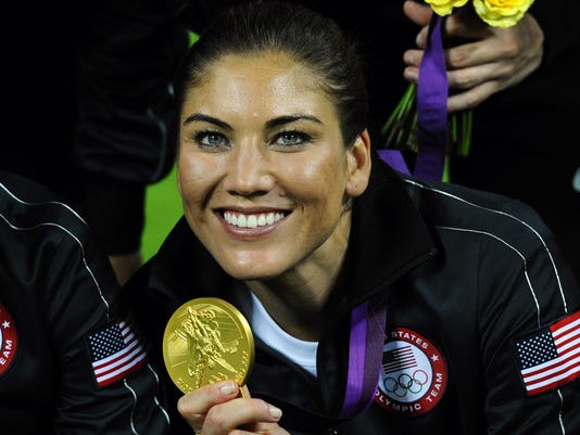 Hope Solo Olympic gold medalist ~ Gossip Styles