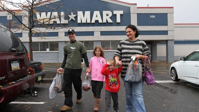 A Walmart in Manville, N.J.