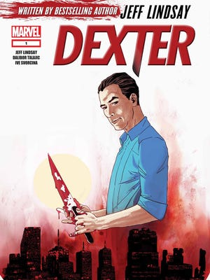 """Cable TV's fan-favorite serial killer comes to comic books in a new """"Dexter"""" series penned by creator Jeff Lindsay."""