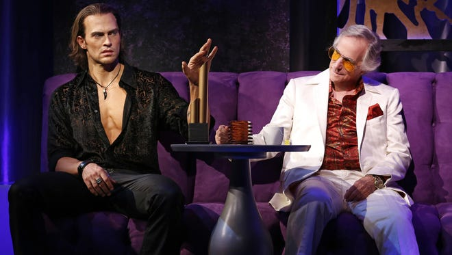Cheyenne Jackson and Henry Winkler star in 'The Performers,' a new comedy at Broadway's Longacre Theater.