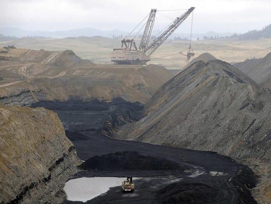 Crow Tribe coal mine
