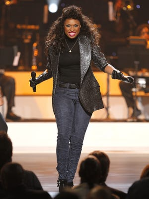 Jennifer Hudson performs during the 'We Will Always Love You' Grammy salute to Whitney Houston.