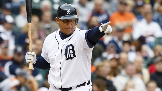Tigers third baseman Miguel Cabrera became the first player to win the Triple Crown since 1967.