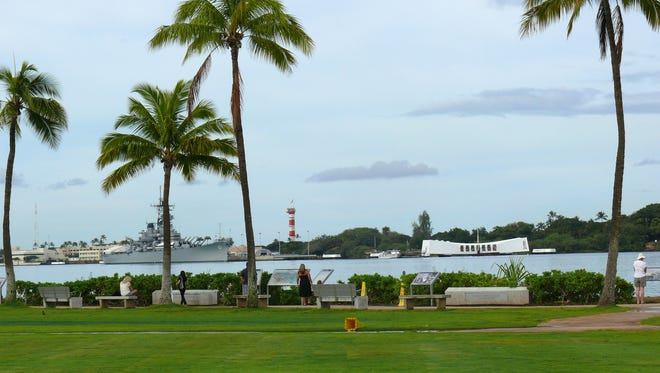 Just three miles from Honolulu's airport, the USS Arizona and Pearl Harbor are a meaningful way to spend a layover.