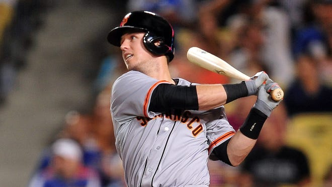 Buster Posey was the first catcher to win the NL batting crown since Ernie Lombardi in 1942, hitting .336.