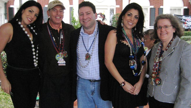 Natalie Khawam, David Petraeus, Scott Kelley, Jill Kelley, Holly Petraeus.
