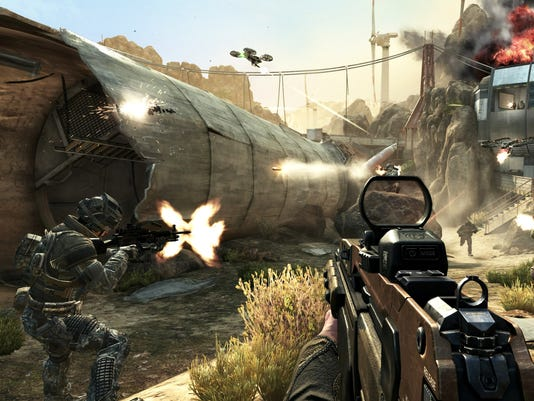 Impressions: 'Call of Duty: Black Ops II' multiplayer M1216 Black Ops 2