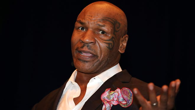 Mike Tyson delivers his 'Day of the Champions' performance in Australia.