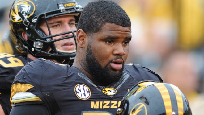 Missouri defensive lineman Sheldon Richardson is expected to be a first-round pick in the NFL draft.