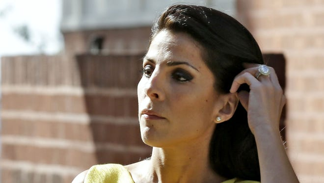 Jill Kelley is identified as the woman who  allegedly received harassing emails from Gen. David Petraeus' paramour, Paula Broadwell.