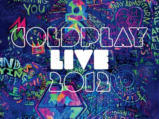 Coldplay Live 2012 sleeve