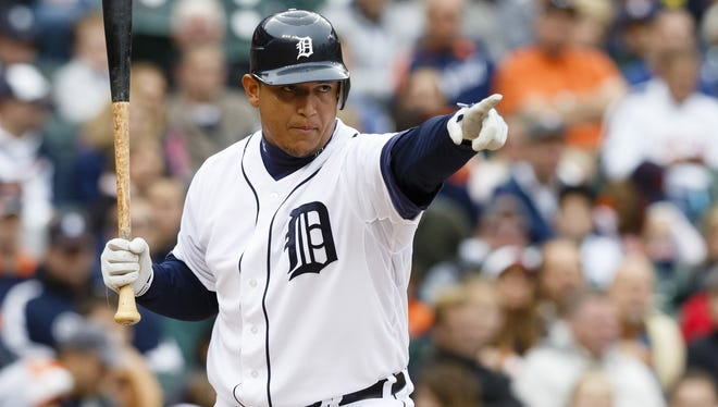 Miguel Cabrera was announced as the American League Most Valuable Player after winning the Triple Crown.