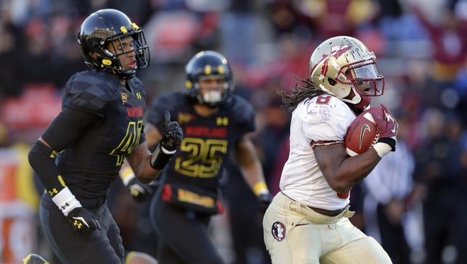 Maryland, which lost to Florida State 41-14 on Saturday, is in talks to join the Big Ten.