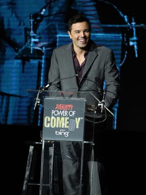 Honoree Seth MacFarlane speaks onstage at Variety's 3rd annual Power of Comedy event benefiting the Noreen Fraser Foundation held at Avalon on Nov. 17, 2012 in Hollywood.
