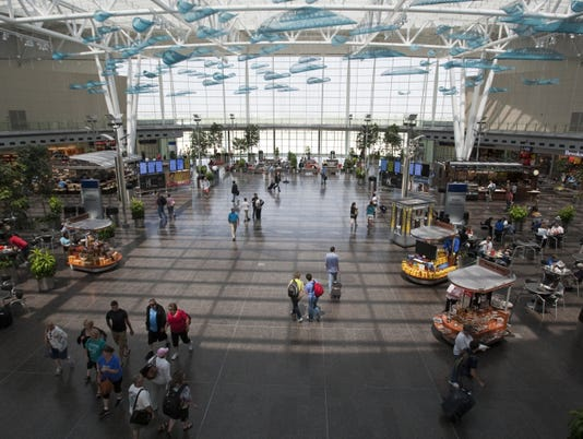 Indianapolis International Airport food court